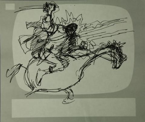 Wizards Storyboard Panel - ID:marwizards2878 Ralph Bakshi