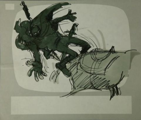 Wizards Storyboard Panel - ID:marwizards2883 Ralph Bakshi