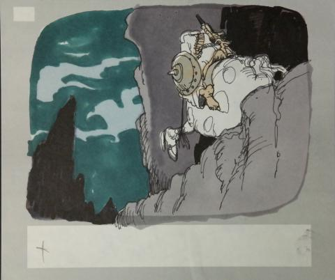 Wizards Storyboard Panel - ID:marwizards2884 Ralph Bakshi