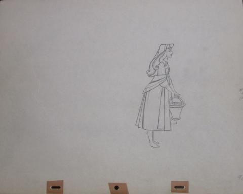 Sleeping Beauty Production Drawing - ID:sleep8089 Walt Disney