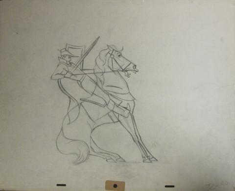 Sleeping Beauty Production Drawing - ID:sleeping1163 Walt Disney