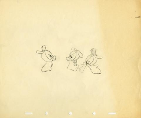 The Gremlins Production Drawing - ID: aprgremlins5569 Walt Disney