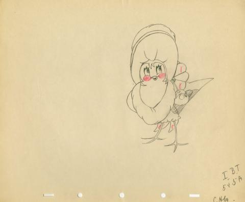 Who Killed Cock Robin? Production Drawing - ID: aprrobin5583 Walt Disney