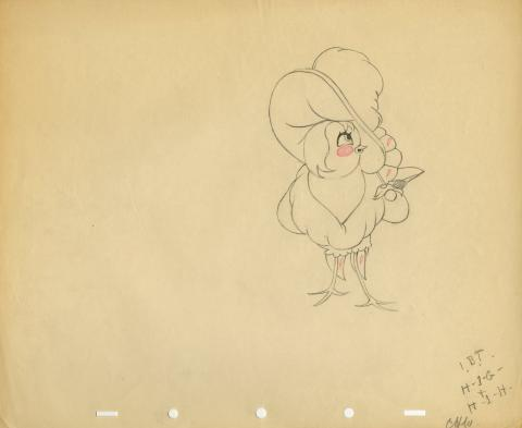 Who Killed Cock Robin? Production Drawing - ID: aprrobin5584 Walt Disney
