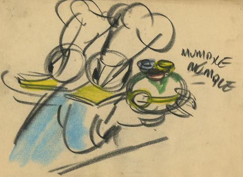 Donald Duck Storyboard Drawing - ID:decdonald5864 Walt Disney