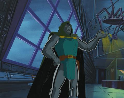 Fantastic Four Cel & Background - ID:decfantfour6821 Marvel