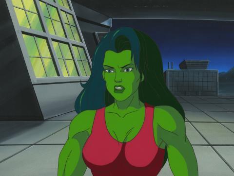 She Hulk Cel & Background - ID:dechulk6824 Marvel
