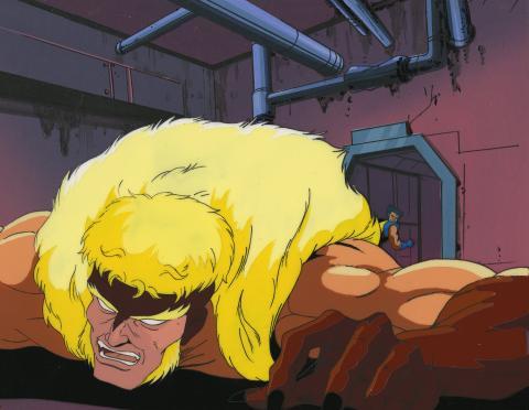 X-Men Production Cel & Background - ID:decxmen6844 Marvel