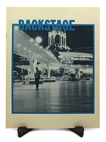 Backstage Magazine Cast Member Publication -  Fall 1971 - ID: jandisneylandPAB035a Disneyana