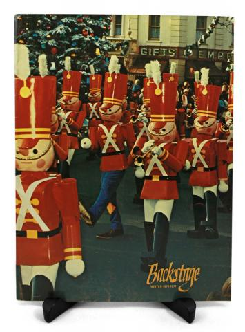 Backstage Magazine Cast Member Publication - Winter 1976-1977 - ID: jandisneylandPAB037a Disneyana