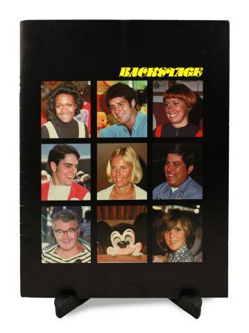 Backstage Magazine Cast Member Publication - Summer 1977 - ID: jandisneylandPAB038a Disneyana
