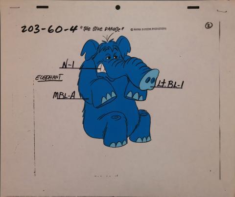 The Flintstones Comedy Show Model Cel - ID: janflintstones2543 Hanna Barbera