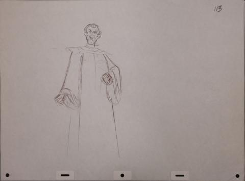 The Hunchback of Notre Dame Production Drawing - ID: janhunchback2517 Walt Disney