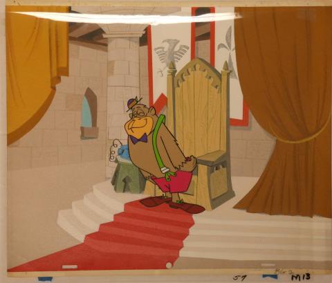 Magilla Gorilla Production Cel,Production Background - ID: janmagilla3935 Hanna Barbera