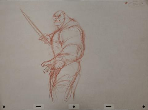 Mulan Production Drawing - ID: janmulan2472 Walt Disney