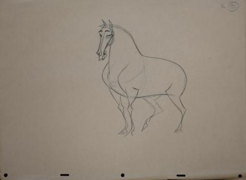 Mulan Production Drawing - ID: janmulan2478 Walt Disney