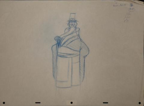 Mulan Production Drawing - ID: janmulan2487 Walt Disney