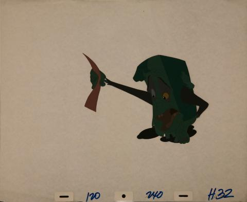 The Pagemaster Production Cel - ID: janpagemaster3910 Fox