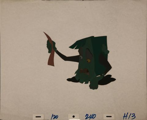 The Pagemaster Production Cel - ID: janpagemaster3914 Fox
