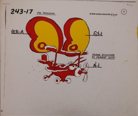 Trollkins Model Cel - ID: jantrollkins2534 Hanna Barbera