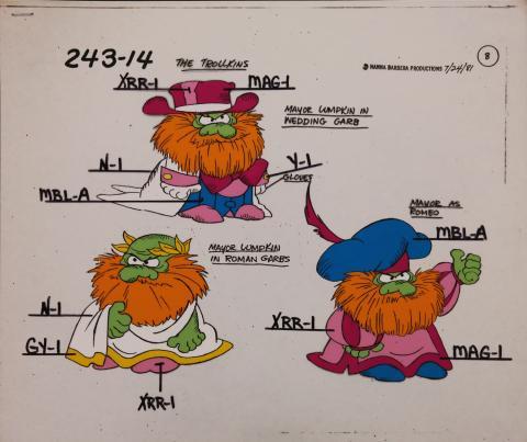 Trollkins Model Cel - ID: jantrollkins2562 Hanna Barbera