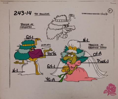 Trollkins Model Cel - ID: jantrollkins2566 Hanna Barbera