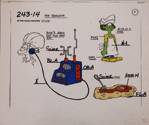 Trollkins Model Cel - ID: jantrollkins2567 Hanna Barbera