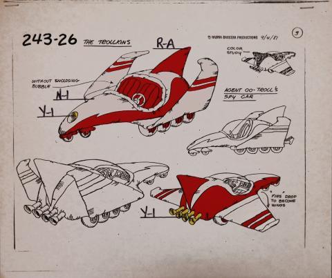 Trollkins Model Cel - ID: jantrollkins2570 Hanna Barbera