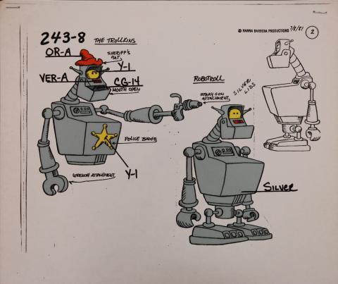 Trollkins Model Cel - ID: jantrollkins2574 Hanna Barbera