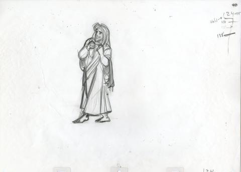 Aladdin Production Drawing - ID:julyaladdin5156 Walt Disney
