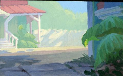 Lilo and Stitch Concept Art - ID:julylilostitch5063 Walt Disney