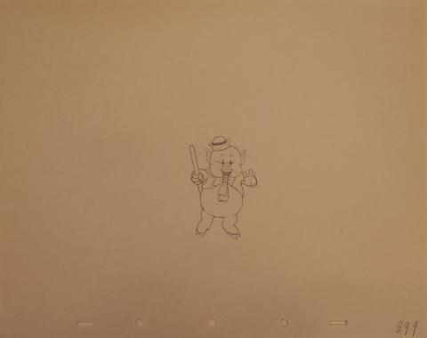 The Three Little Pigs Production Drawing - ID:marlittlepigs6244 Walt Disney