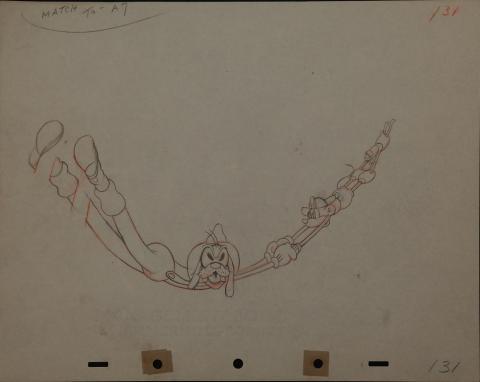 Mickey's Fire Brigade Production Drawing - ID: maymickey6764 Walt Disney