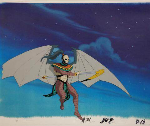 X-Men Horseman Production Cel - ID:octxmen0419 Marvel