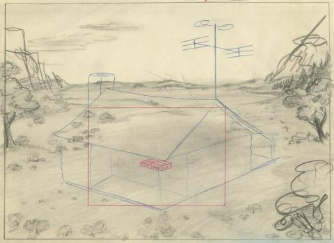 Homesteader Droopy Layout Drawing - ID: septmgm8075 MGM