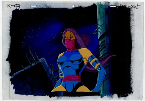 X-Men Psylocke Cel & Background - ID: septxmen6544 Marvel