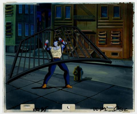X-Men Colossus Cel & Background - ID: septxmen6550 Marvel
