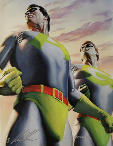 Canvas Ambiguously Gay Duo Print - ID: agdrosscvs JJ Sedelmaier