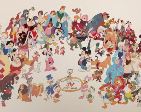 Bill Justice Disney 50th Limited Edition - ID: billjustice17551 Walt Disney