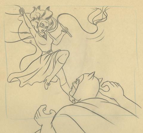 Batman Opening Title Layout Drawing - ID: janbatman9044 Filmation