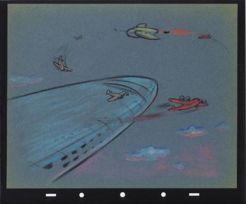Victory Through Air Power Concept Drawing - ID: junairpower17126 Walt Disney