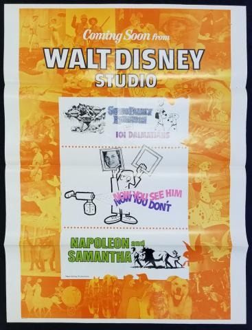 Walt Disney Coming Soon One Sheet Poster - ID: novdisney17355 Walt Disney