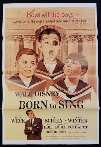 Almost Angels / Born to Sing One Sheet Poster - ID: novdisney17602 Walt Disney