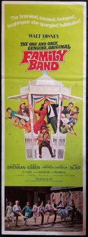 Family Band Mini Door Panel Poster - ID: novdisney17821 Walt Disney