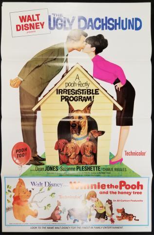Ugly Dachshund One Sheet Poster - ID: novwinnie17742 Walt Disney