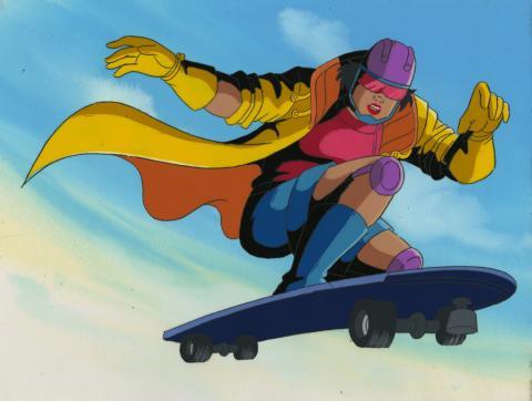 X-Men Cel and Background - ID: octxmen17109 Marvel