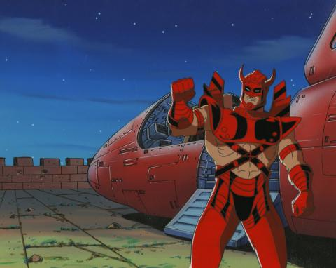 X-Men Cel and Background - ID: octxmen17116 Marvel