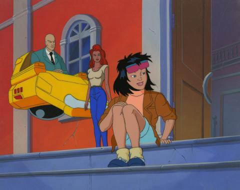 X-Men Cel and Background - ID: octxmen17138 Marvel