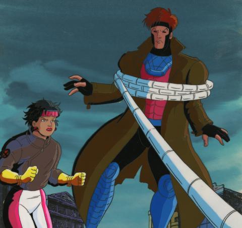 X-Men Cel and Background - ID: octxmen17186 Marvel