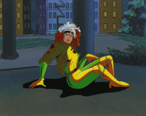 X-Men Cel and Background - ID: octxmen17212 Marvel